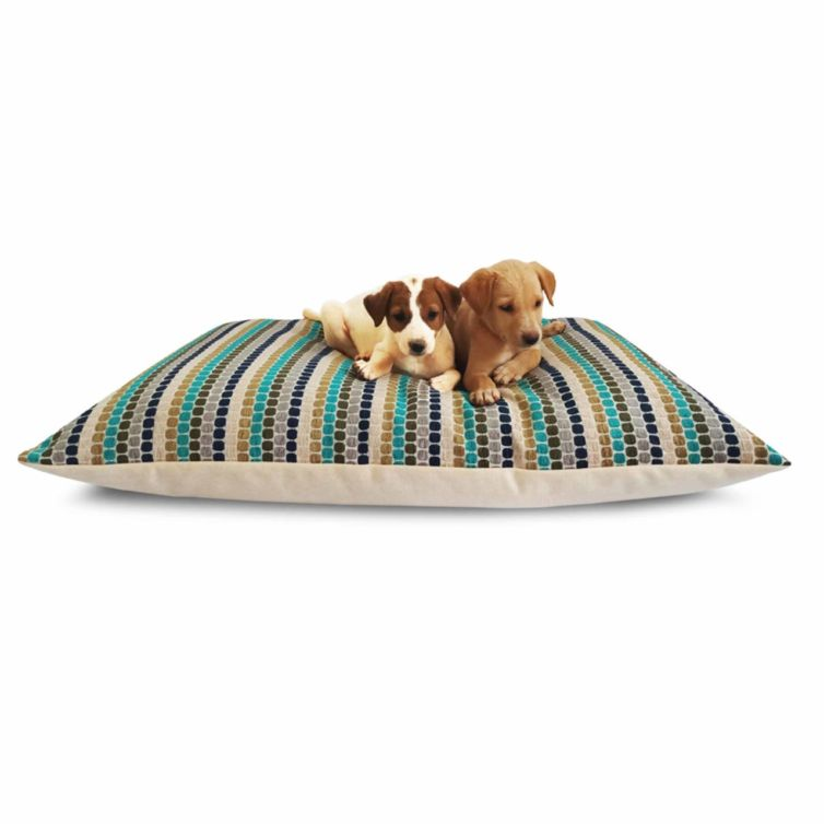 Blue Candies Waterproof Dog Bed
