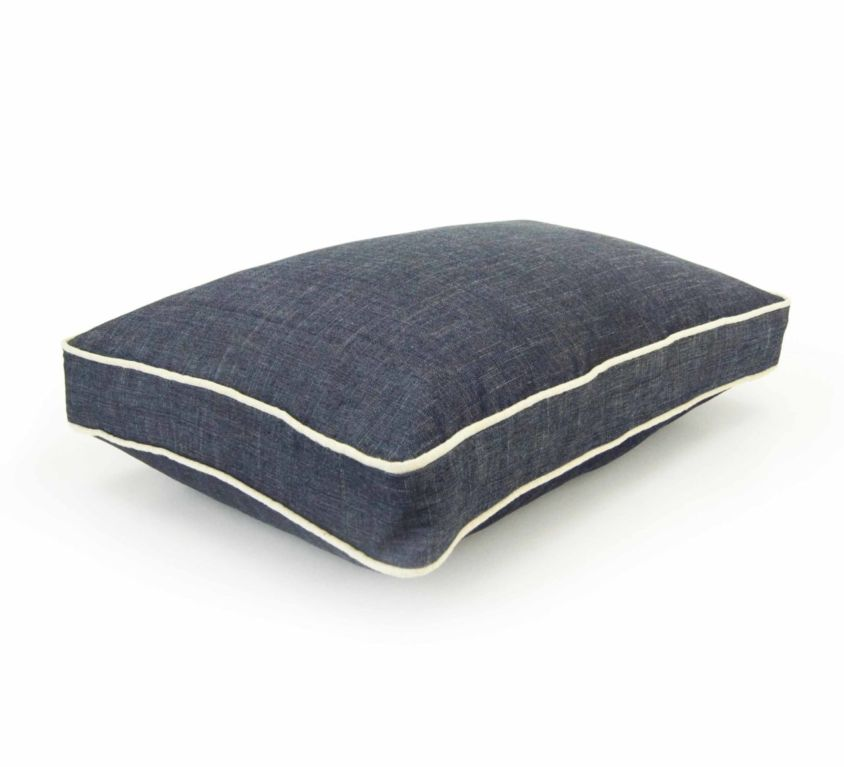 Denim Chewproof Dog Bed