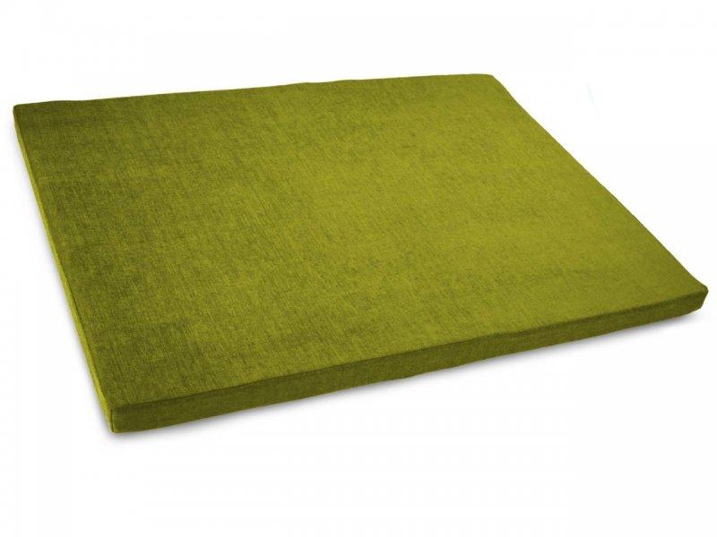 orthopedic dog bed olive green 2